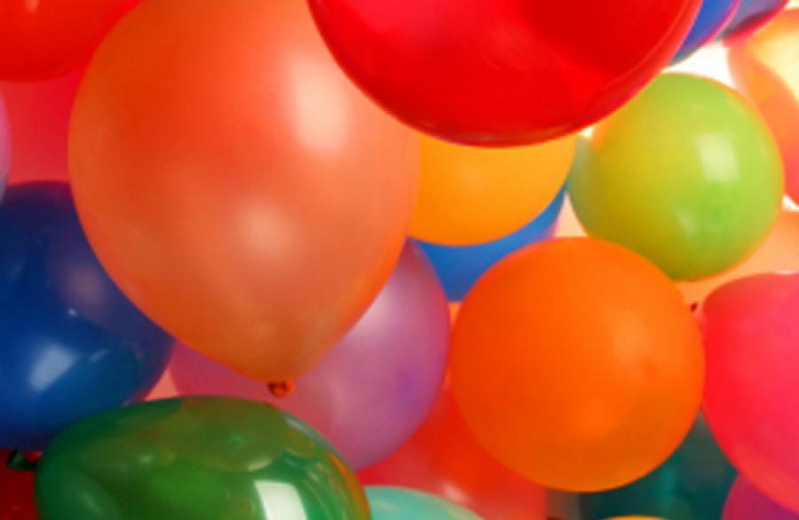 Balónková párty (Helium ballons party) 1