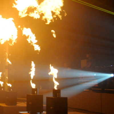 Ohnivá show (Big Fire Sensation)