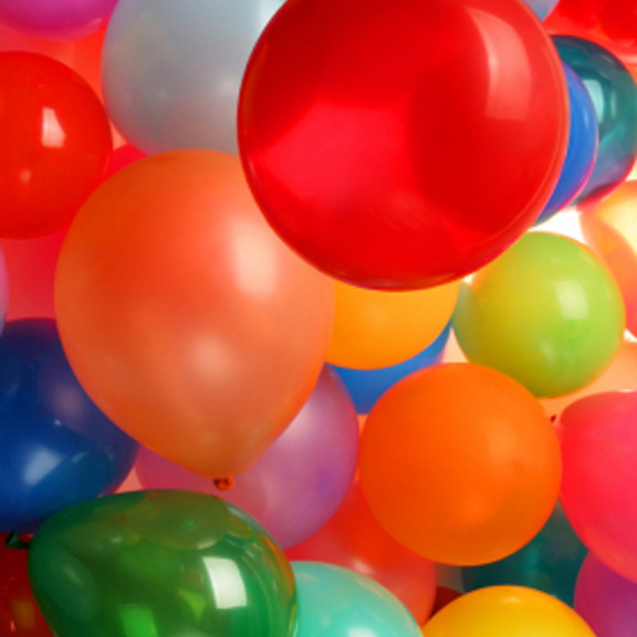 Balónková párty (Helium ballons party)