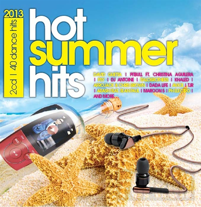 HOT SUMMER HITS 2013 - 40 Z�SADN�CH HIT� L�TA 2013 NA 2CD!