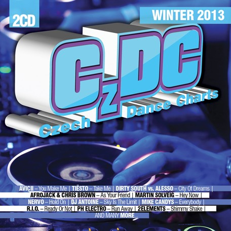 Pr�v� vych�z� CD Czech Dance Charts Winter 2013